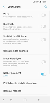 Samsung Galaxy S8 - Android Oreo - Bluetooth - connexion Bluetooth - Étape 7