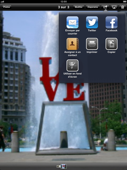 Apple iPad mini - E-mail - Envoi d