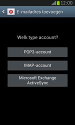 Samsung S7710 Galaxy Xcover 2 - E-mail - e-mail instellen: IMAP (aanbevolen) - Stap 7