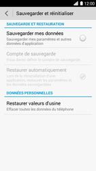 Huawei Ascend G6 - Appareil - Réinitialisation de la configuration d