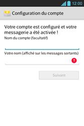 LG E610 Optimus L5 - E-mail - Configuration manuelle - Étape 16