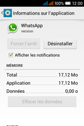 Alcatel OT-4015X Pop C1 - Applications - Supprimer une application - Étape 6