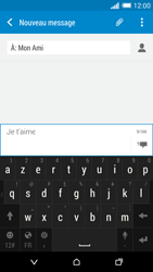 HTC One (M8) - Contact, Appels, SMS/MMS - Envoyer un SMS - Étape 10