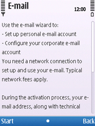 Nokia C5-00 - E-mail - Manual configuration - Step 6