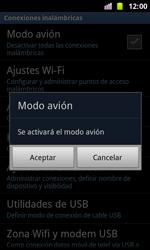 Samsung I8160 Galaxy Ace II - Funciones básicas - Activar o desactivar el modo avión - Paso 6