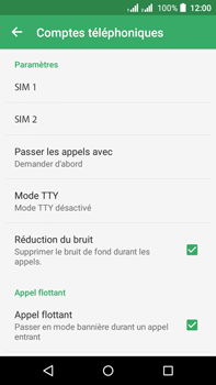 Acer Liquid Z630 - Messagerie vocale - configuration manuelle - Étape 7
