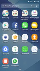 Samsung Galaxy A3 (2017) - Aplicações - Como configurar o WhatsApp -  4