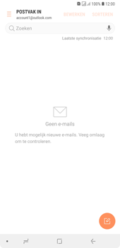 Samsung Galaxy A7 (2018) - E-mail - handmatig instellen (outlook) - Stap 12