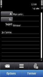 Nokia C6-01 - E-mail - Envoi d