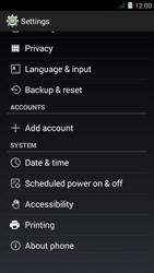 Acer Liquid Z410 - Network - Installing software updates - Step 5