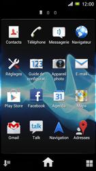 Sony ST26i Xperia J - Messagerie vocale - configuration manuelle - Étape 4