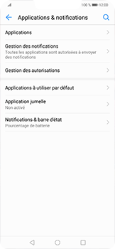 Huawei Mate 20 lite - Applications - Supprimer une application - Étape 4