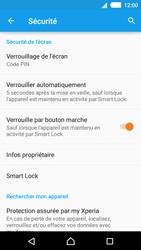 Sony Xperia M4 Aqua - Sécuriser votre mobile - Activer le code de verrouillage - Étape 12