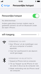 Apple iPhone 5s - iOS 11 - WiFi - WiFi hotspot instellen - Stap 8