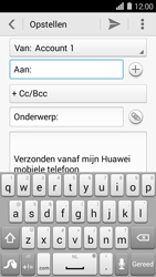 Huawei Ascend Y550 - E-mail - E-mails verzenden - Stap 5
