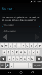 Sony D5803 Xperia Z3 Compact - Applicaties - Account aanmaken - Stap 5