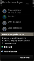 Nokia E7-00 - Wifi - handmatig instellen - Stap 11