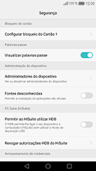 Huawei Honor 8 - Segurança - Como ativar o código PIN do cartão de telemóvel -  6
