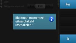 Nokia N97 - Bluetooth - Headset, carkit verbinding - Stap 7