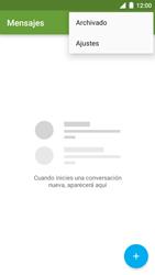 BQ Aquaris U - Mensajería - Configurar el equipo para mensajes de texto - Paso 5
