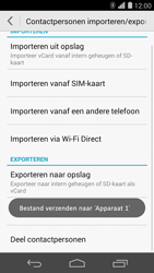Huawei Ascend P7 4G (Model P7-L10) - Contacten en data - Contacten overzetten via Bluetooth - Stap 12