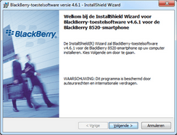 BlackBerry 8520 Curve - Software - Update installeren via PC - Stap 9