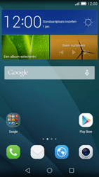 Huawei Ascend G7 - Netwerk - Software updates installeren - Stap 1