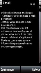 Nokia 5800 Xpress Music - E-mail - Configuration manuelle - Étape 8