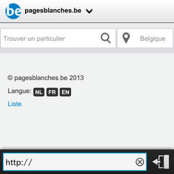 BlackBerry Q5 - Internet - Navigation sur internet - Étape 12