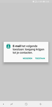 Samsung Galaxy A6 Plus - E-mail - handmatig instellen (outlook) - Stap 5
