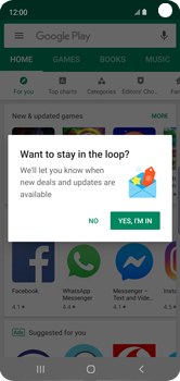 Samsung Galaxy S10e - Applications - Download apps - Step 6