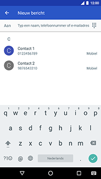 Android One GM5Plus DS - MMS - hoe te versturen - Stap 4