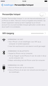 Apple iPhone 7 Plus (Model A1784) - WiFi - Mobiele hotspot instellen - Stap 6