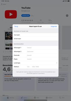Apple ipad-pro-11-inch-2018-model-a1934 - Applicaties - Account aanmaken - Stap 18