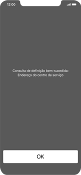Apple iPhone XR - SMS - Como configurar o centro de mensagens -  4