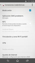 Sony Xperia Z3 - Funciones básicas - Activar o desactivar el modo avión - Paso 6