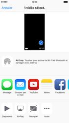 Apple iPhone 6s - Photos, vidéos, musique - Créer une vidéo - Étape 10
