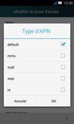 Huawei Y3 - Internet - Configuration manuelle - Étape 12