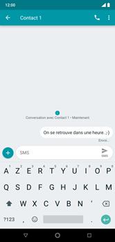 Nokia 7.1 - Contact, Appels, SMS/MMS - Envoyer un SMS - Étape 9