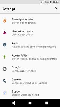 Sony Xperia XA2 Ultra - Device - Software update - Step 5