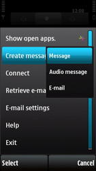 Nokia X6-00 - Email - Sending an email message - Step 6