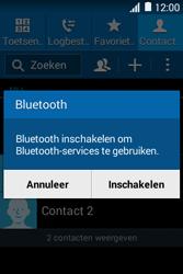Samsung G130HN Galaxy Young 2 - Contactgegevens overzetten - delen via Bluetooth - Stap 10