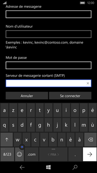 Microsoft Lumia 950 XL - E-mail - Configuration manuelle - Étape 13