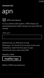Samsung I8750 Ativ S - Internet - configuration manuelle - Étape 6