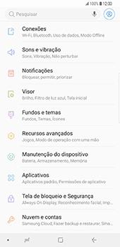 Samsung Galaxy S9 Plus - Internet no telemóvel - Como ativar os dados móveis -  4
