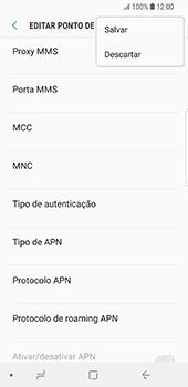 Samsung Galaxy S9 - Internet no telemóvel - Como configurar ligação à internet -  16