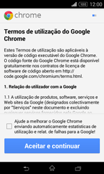 Sony Xperia E1 - Internet no telemóvel - Como configurar ligação à internet -  19