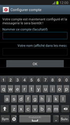 Samsung Galaxy Note 2 - E-mails - Ajouter ou modifier un compte e-mail - Étape 14