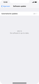Apple iPhone XS Max - Toestel - Software update - Stap 7
