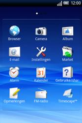 Sony Ericsson Xperia X8 - E-mail - hoe te versturen - Stap 3